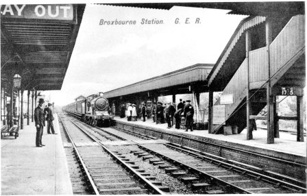 Broxbourne Station 1905
