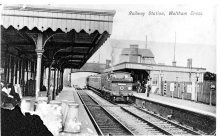Waltham Cross Station 1905