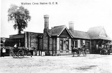 Waltham Cross GER Station 1910