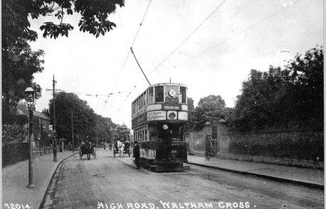 Waltham Cross High Street 1930