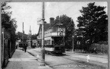 Waltham Cross Tram Terminal 1911