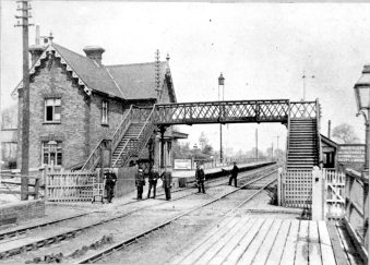Cheshunt Railway Station 1890