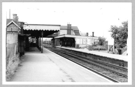 Waltham Cross Railway Station 1956