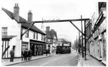 Waltham Cross Trolley Buses 1959
