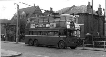 Waltham Cross Trolley Buses1959