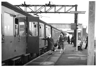 Cheshunt Railway Station1962