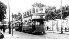 Waltham Cross trams 1930s