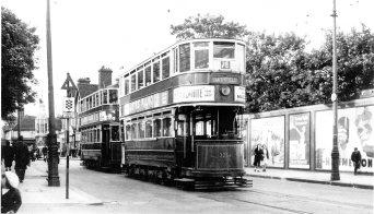 Waltham Cross trams 1930s