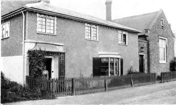 BROXBOURNE BOYS SCHOOL MASTERS HOUSE 1890