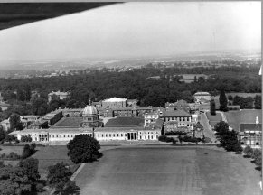AERIAL VIEW HAILEYBURY COLLEGE 1960