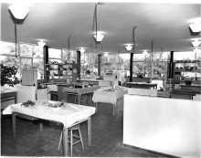 DOMESTIC SCIENCE ROOM AT BROXBOURNE SCHOOL