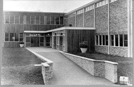 CHESHUNT GRAMMAR SCHOOL SCIENCE BLOCK 1956