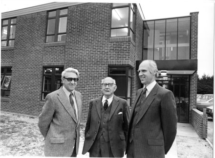 BROXBOURNE SCHOOL OPENING NEW 6TH FORM BLOCK 1983