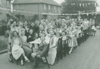WALTHAM CROSS CORONATION PARTY 1953