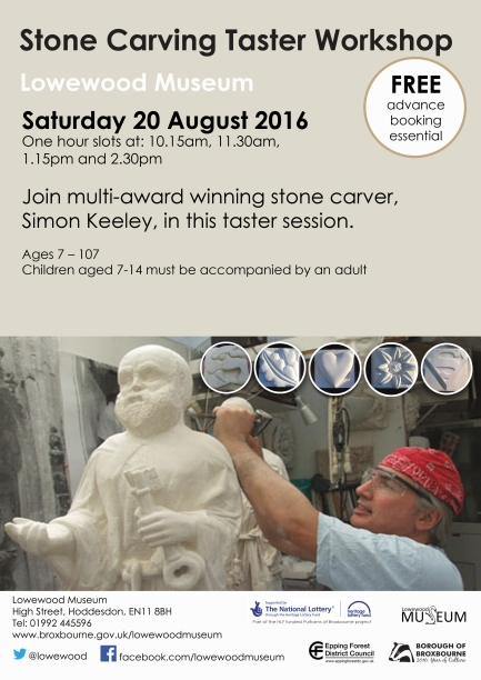 Stone carving taster session