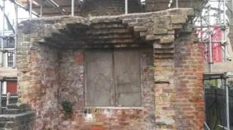 Kiln before
