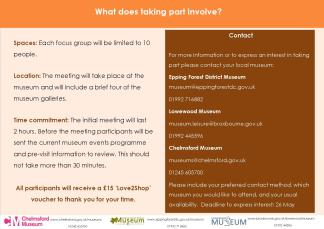 Museum BAME focus group invitation - Page 2