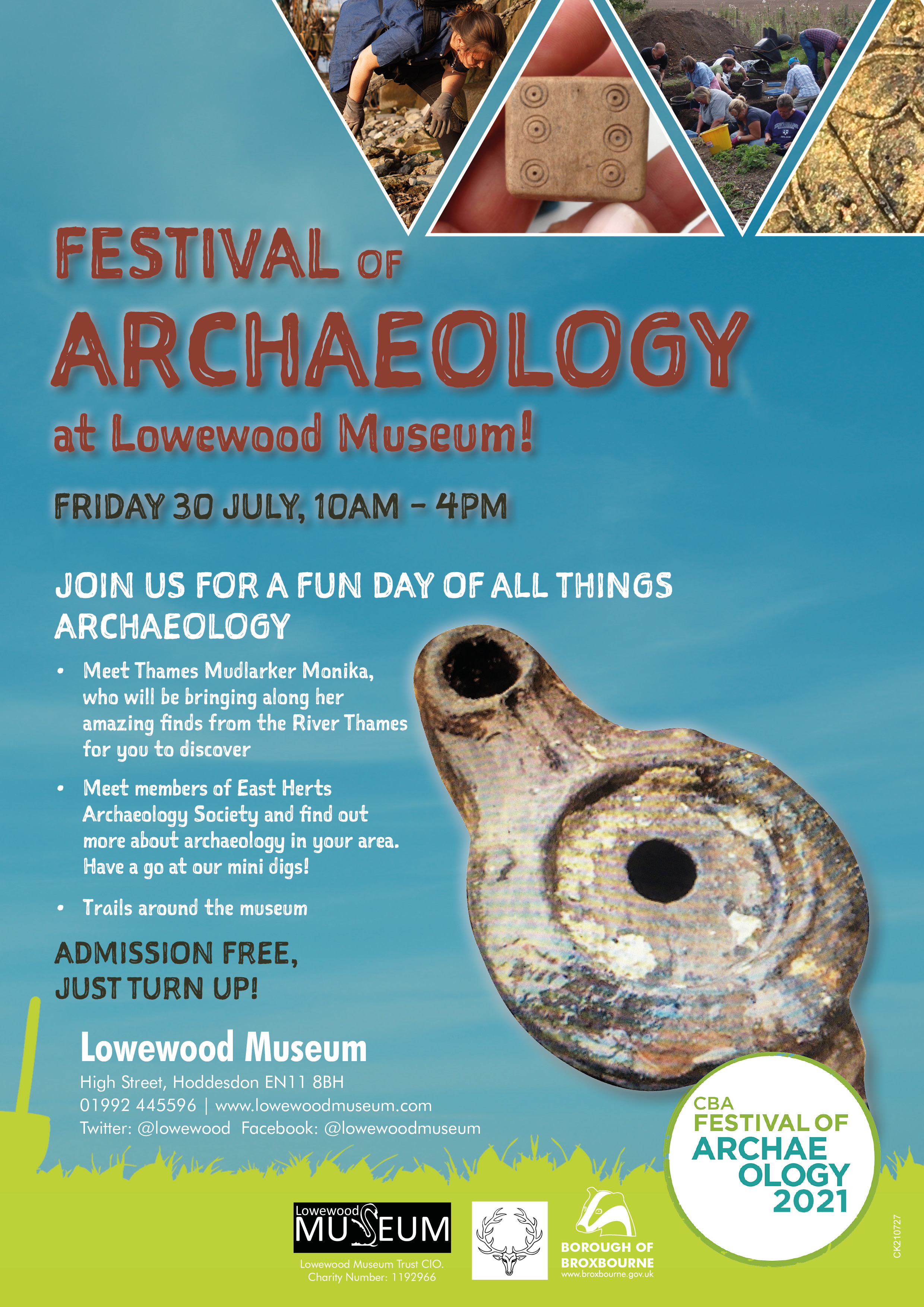 Festival of Archaeology - 30 July 2021