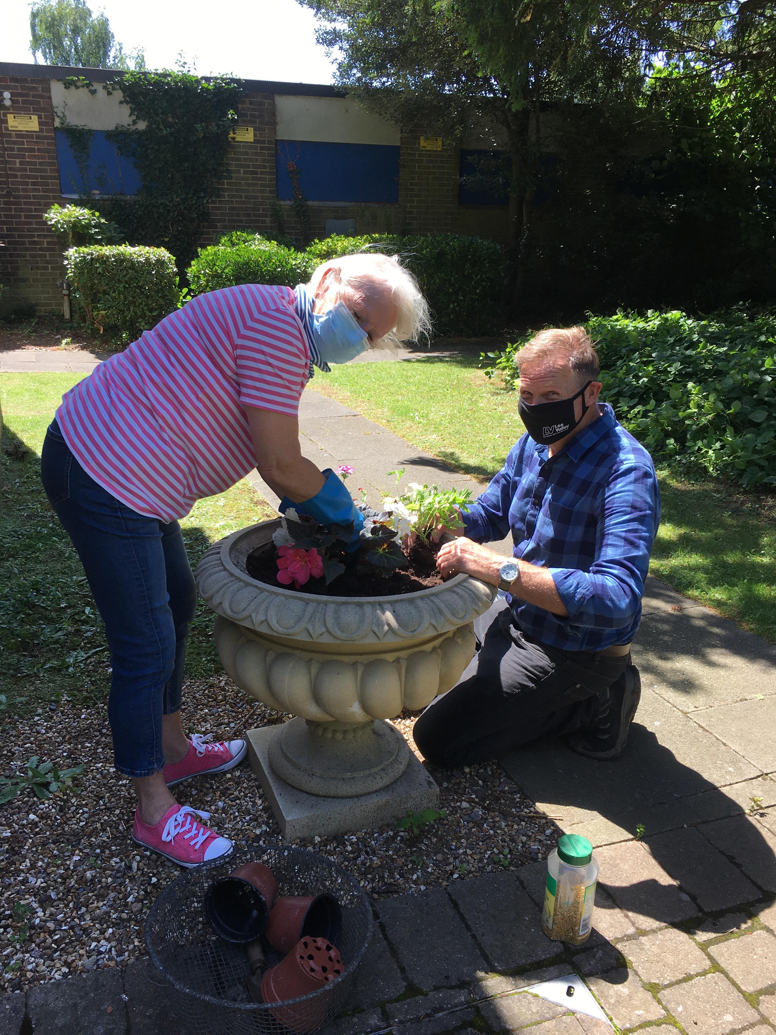 Preparing Lowewood garden