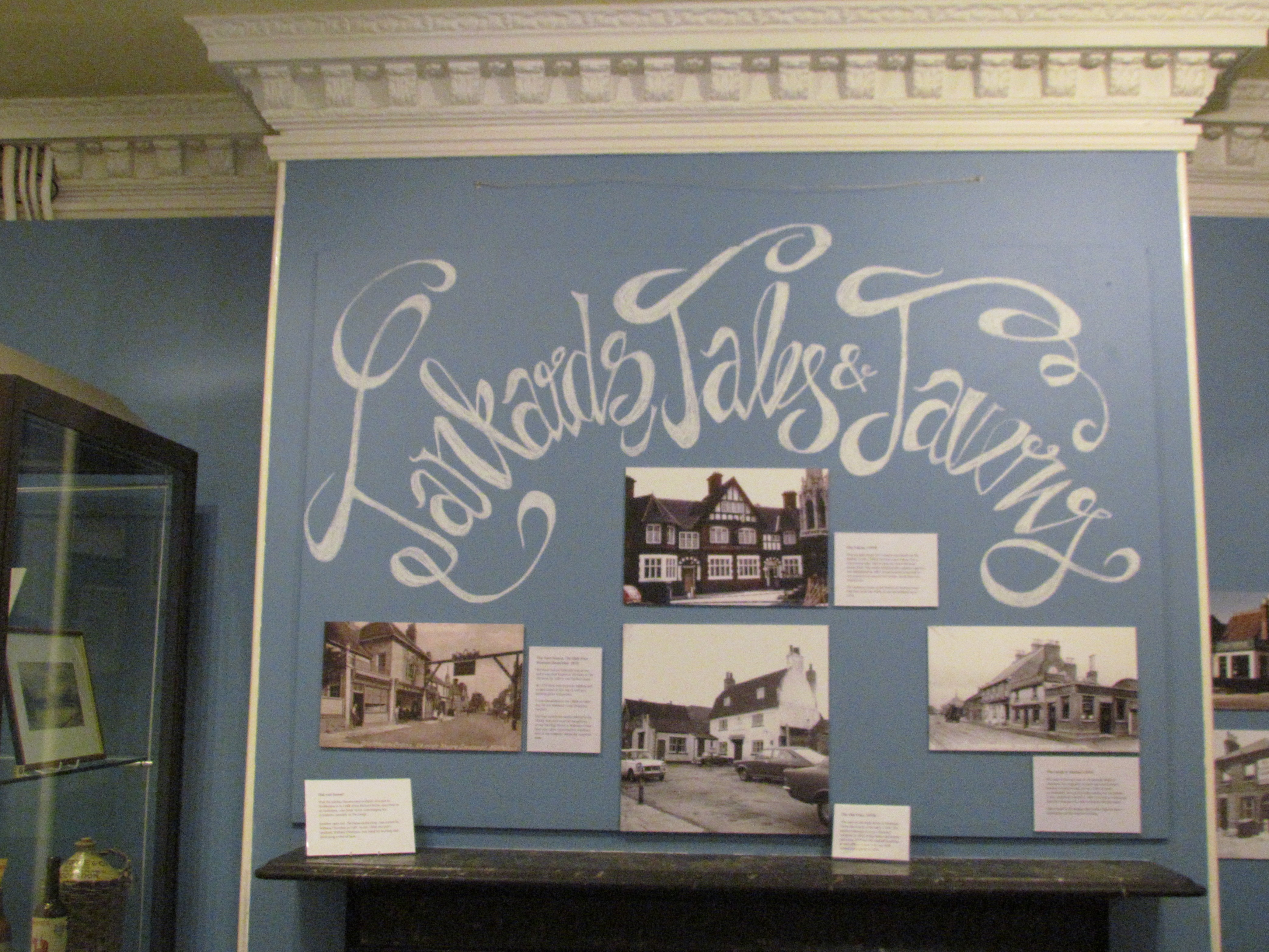 Lowewood's new exhibition - Tankards, Tales and Taverns
